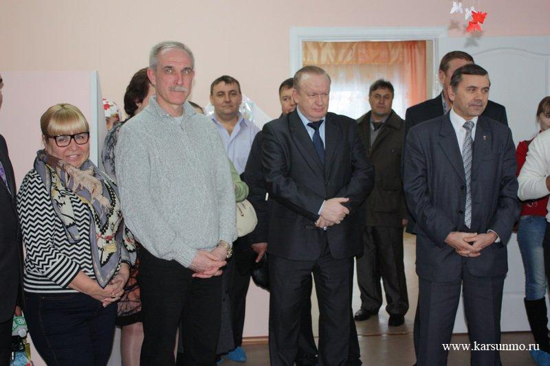 Открытие детского сада в с. Нагаево Карсунского района