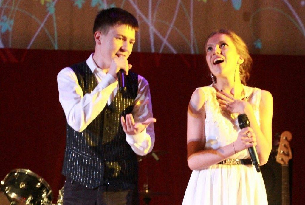 Алсу Халимдарова и Ильдар Насыров на конкурсе «Песенный марафон в Татьянин день»