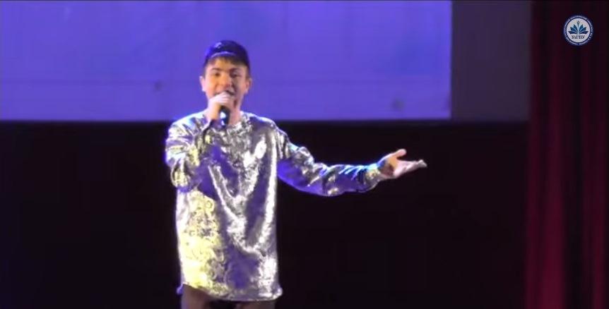 Ильдар Насыров на конкурсе «Песенный марафон в Татьянин день»