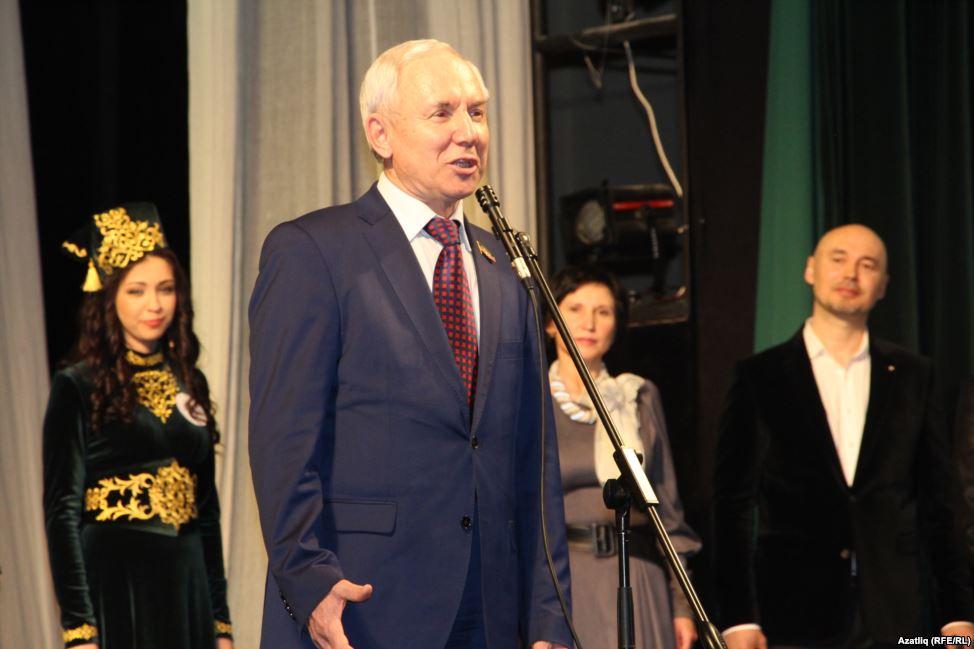 Председатель Исполкома Всемирного конгресса татар Ринат Закиров на на Всероссийском конкурсе