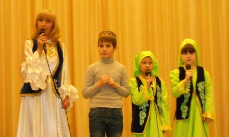Динара Рахимова и Альбина Мингалиева на V межрегиональном  конкурсе