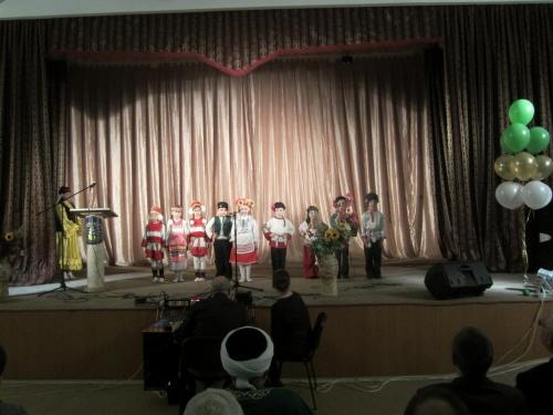 Выступление воспитанников детского сада №20 «Искринка»   День татарского языка и культуры в Ленинском районе Ульяновска.