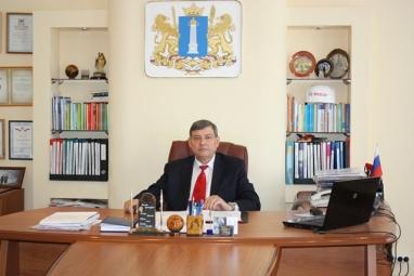Директор Ульяновского строительного колледжа Рустям Ямбаев.