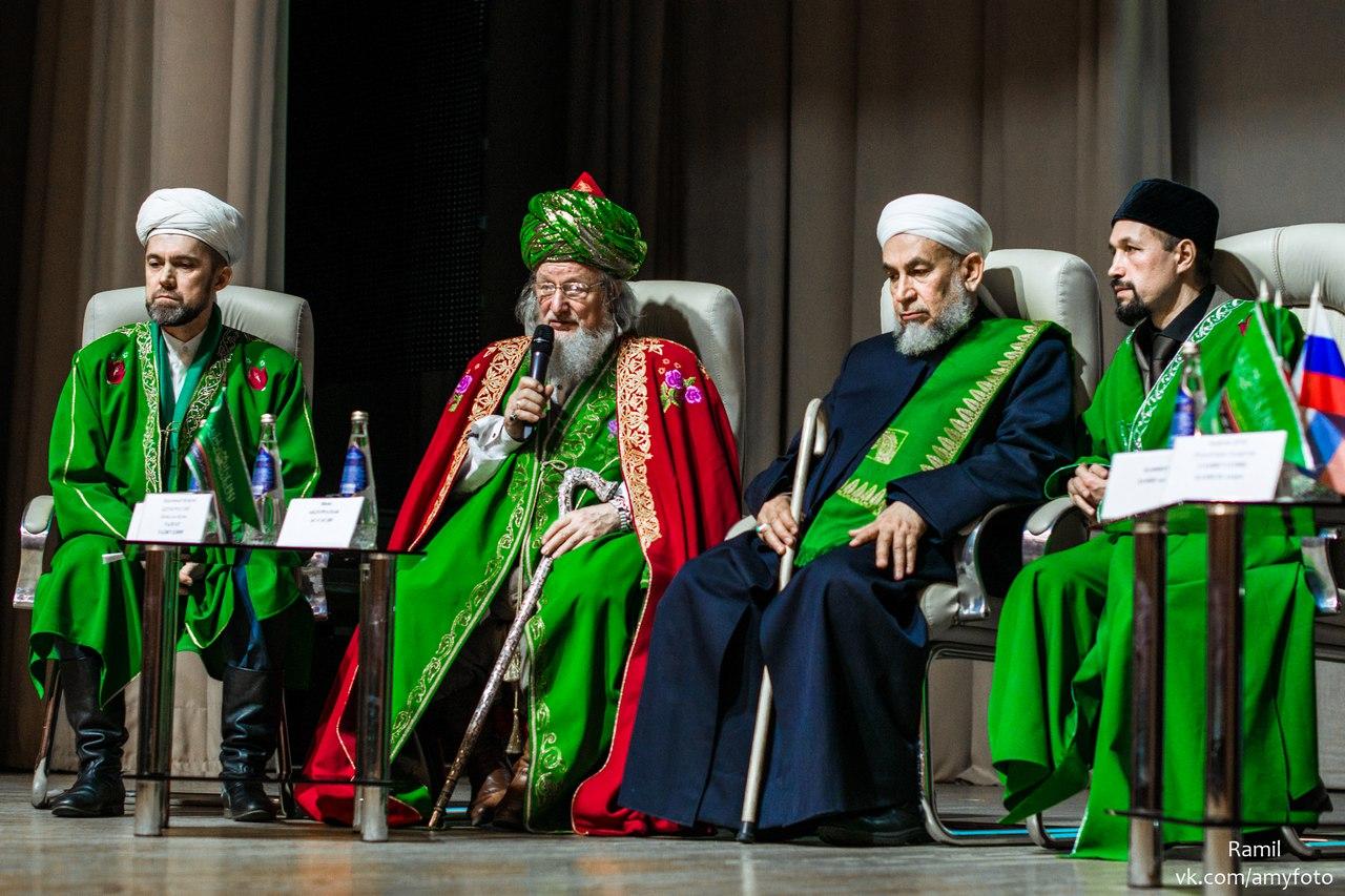 Президиум межрегионального форума «Мусульманская молодежь в современной России». Ульяновск