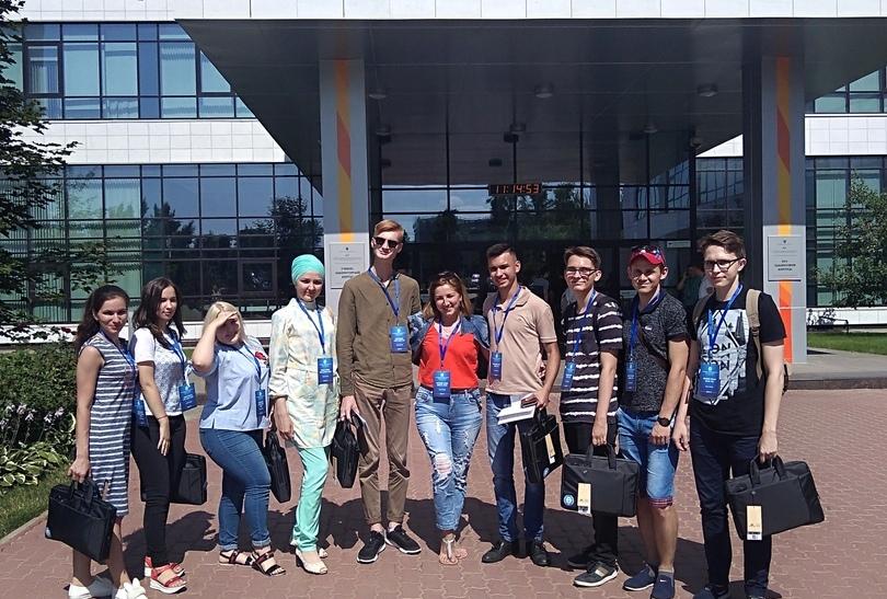 Ульяновцы перед заселением в общежие Деревни Универсиады